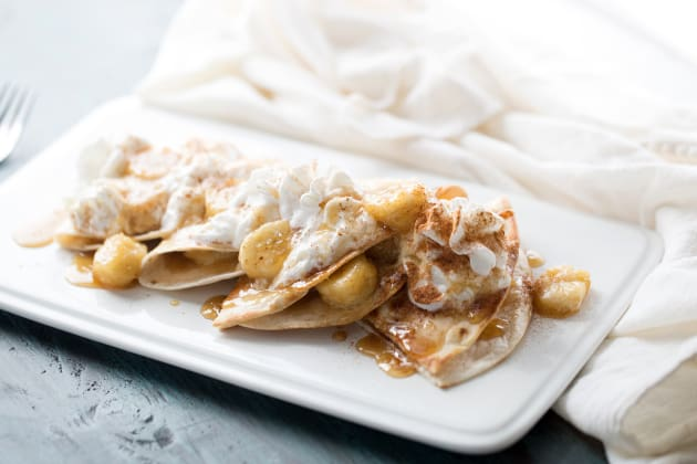 Bananas Foster Quesadilla Photo