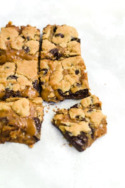 Caramel Cookie Bars Pic