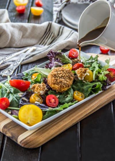 Tomato Goat Cheese Salad Pic