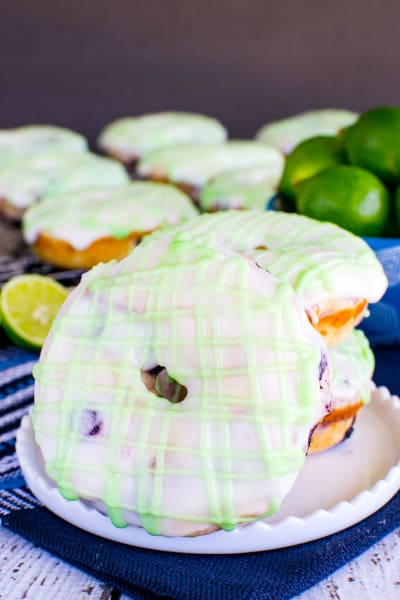 Blueberry Key Lime Donuts Image