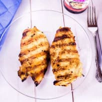 Grilled teriyaki pineapple chicken recipe