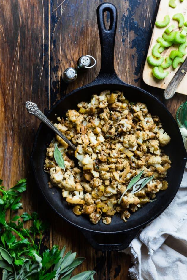 Cauliflower Rice Stuffing Picture