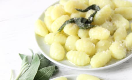 Sage Butter Gnocchi Pic