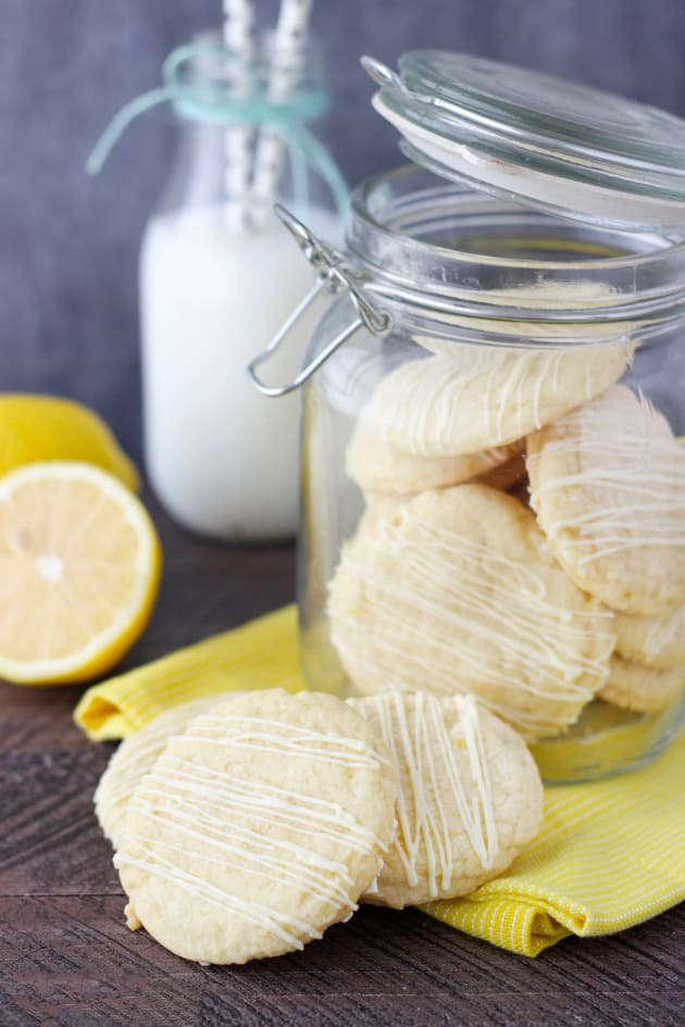 Lemon Cake Mix Cookies Picture