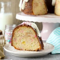 Funfetti Cheesecake Bundt Cake Recipe