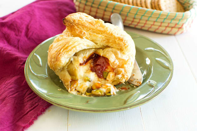 Baked Brie with Guava Photo