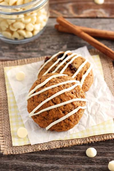 Small Batch Pumpkin Spice Cookies Image