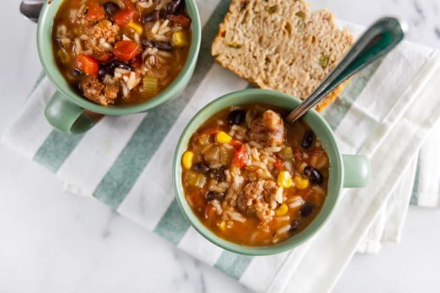 Southwest Chorizo Soup Photo