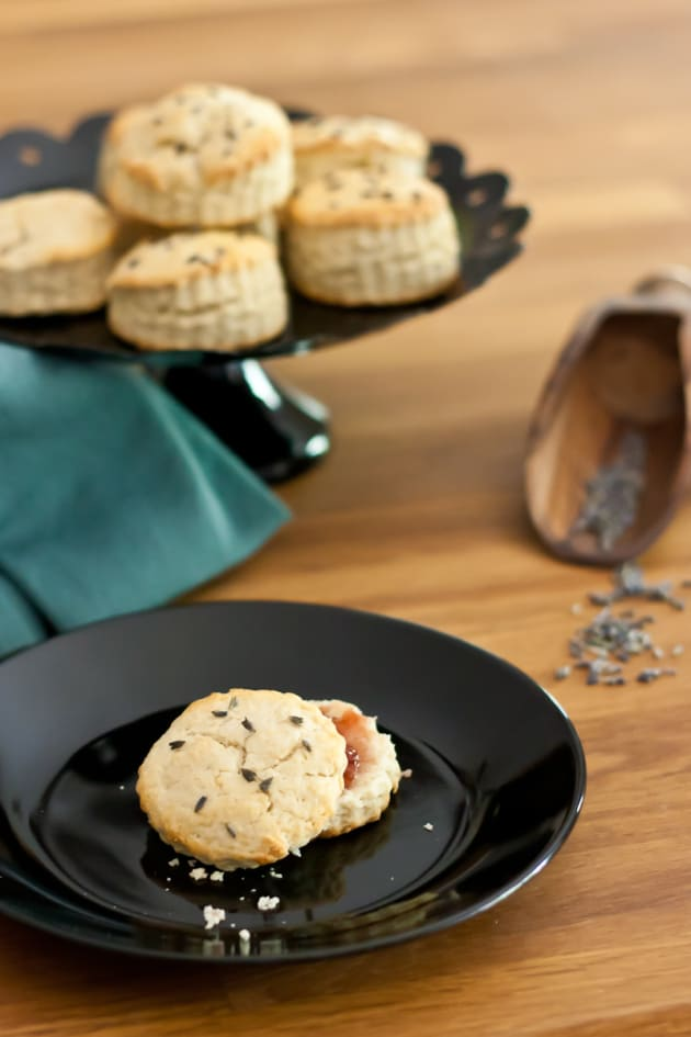 Lavender Biscuits Picture