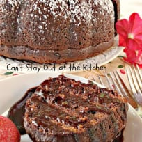 Chocolate Chunk Bundt Cake