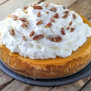 Cheesecake factory pumpkin cheesecake photo