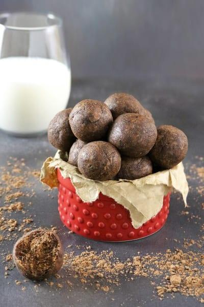 Mocha Almond Bites Picture
