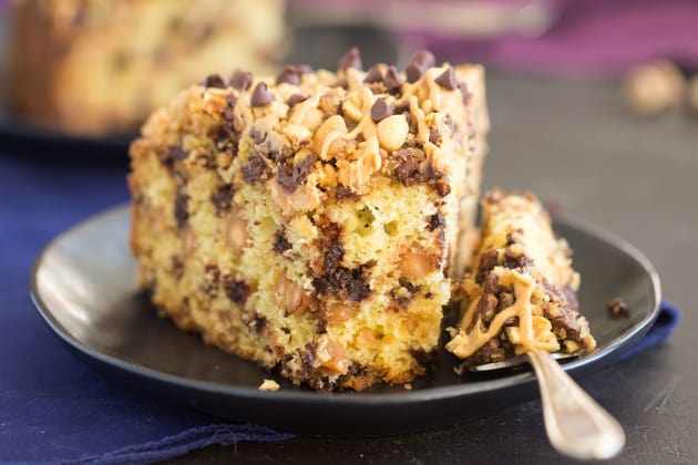 Chocolate Peanut Butter Coffee Cake Pic