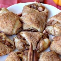 Pumpkin Butterscotch Croissants