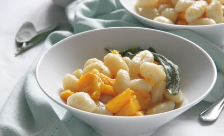 Pumpkin Gnocchi with Sage Butter Sauce Photo