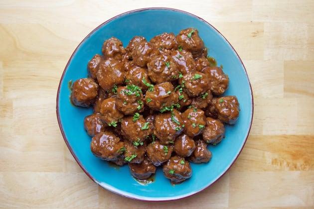 BBQ Meatballs Photo