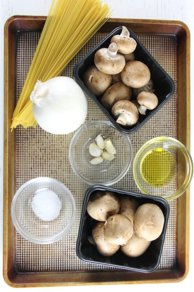 Mushroom Pasta Picture