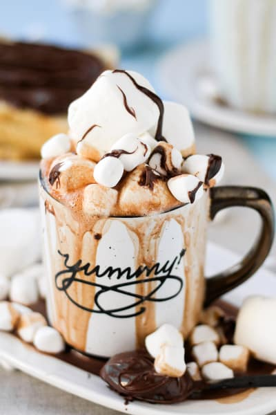 Spiked Nutella Hot Cocoa Picture
