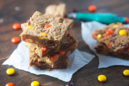 Peanut Butter Blondies