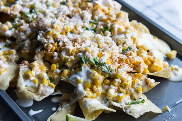 Mexican Street Corn Nachos Photo