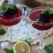 Lavender Blackberry Spritz