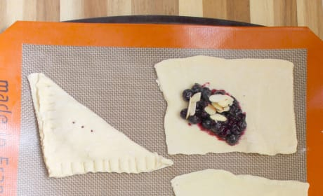 Blueberry Almond Turnovers Image