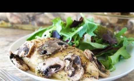 How to Make Honey-Dijon Chicken and Mushrooms