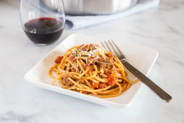 One Pot Spaghetti Image
