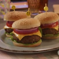 Light Beef Burger With A Fresh Touch