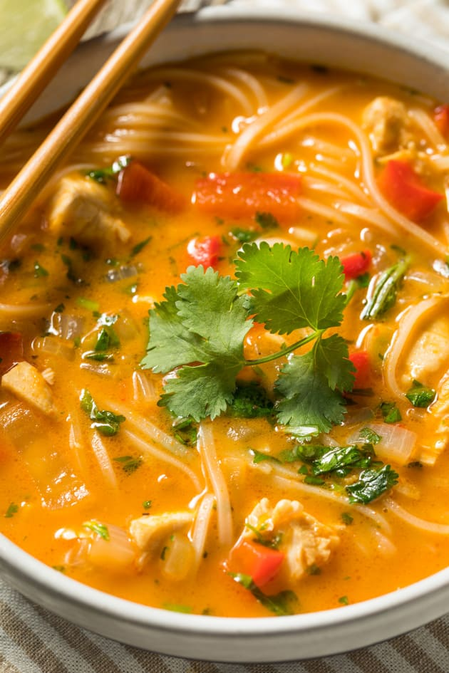 Red Curry Noodle Soup Image