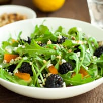 Arugula Blackberry Salad Recipe