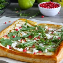 Pear and Goat Cheese Tart Recipe