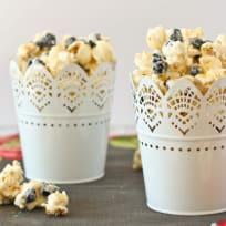 Blueberries & Cream Popcorn Recipe