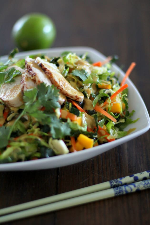 Thai Chopped Chicken Salad Pic