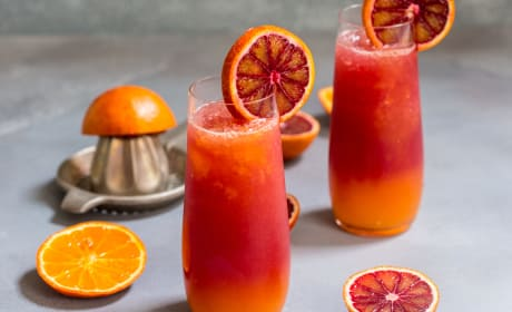 Winter Tequila Sunrise Recipe