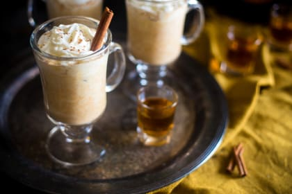 Maple Pumpkin Bourbon Steamer