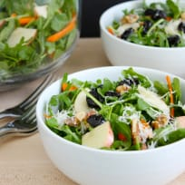 Fall Arugula and Apple Salad Recipe