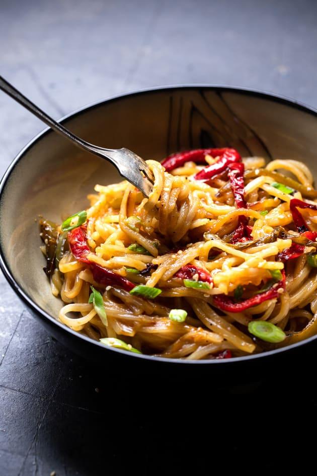 Honey Garlic Instant Pot Noodles Pic
