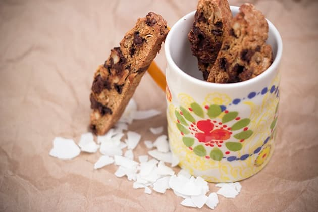 Coconut Almond Biscotti Photo