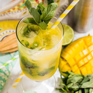 Mango mojito photo