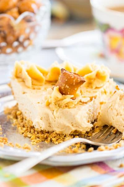 File 1 Peanut Butter Pie with Pretzel Crust