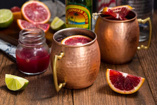 Blood Orange Mule Photo