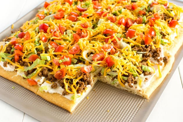 Taco Pizza Photo