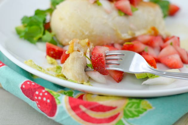 Strawberry Salsa Chicken Pic