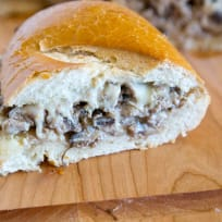 Beef Stroganoff Stuffed Bread Recipe