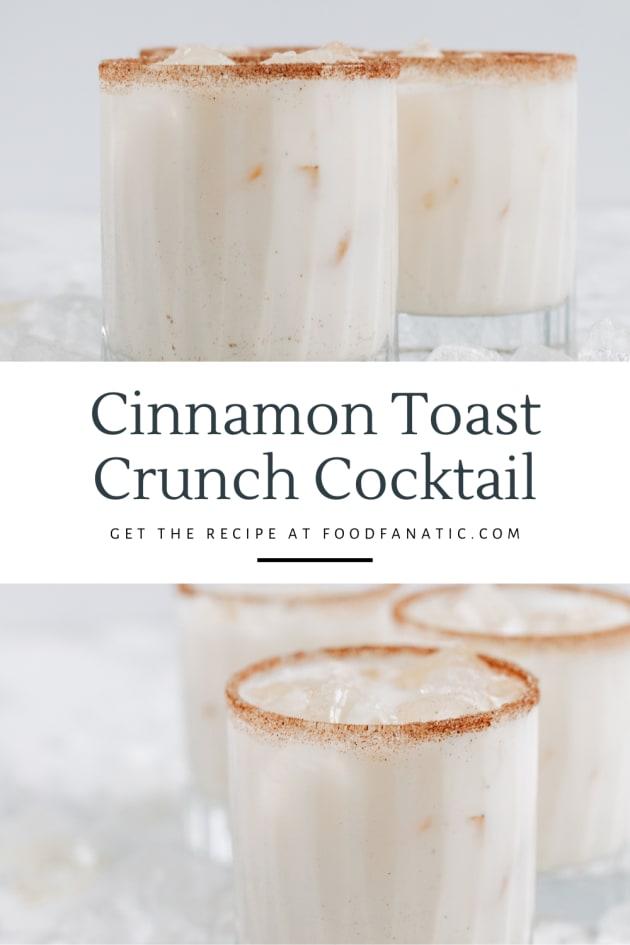 Best Cinnamon Toast Crunch Cocktail Photo