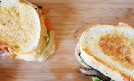 Fajita Grilled Cheese Image