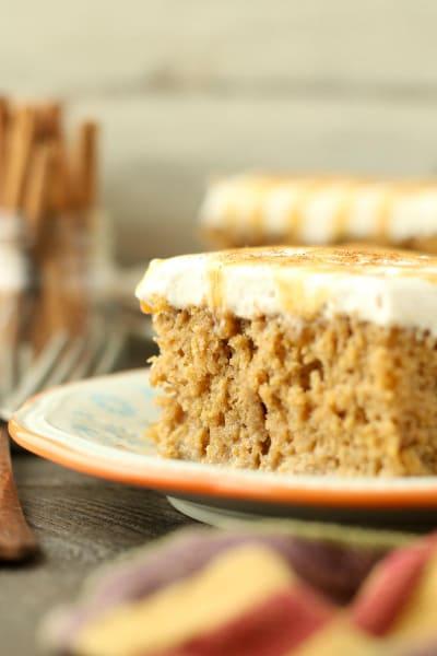 Pumpkin Spice Latte Poke Cake Pic