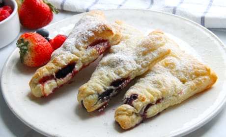 Mixed Berry Turnovers Recipe