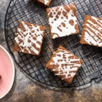 Spiked Gingerbread Bars Recipe
